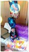 誕生日のバルーン