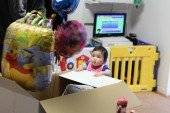 1歳誕生日バルーンギフト