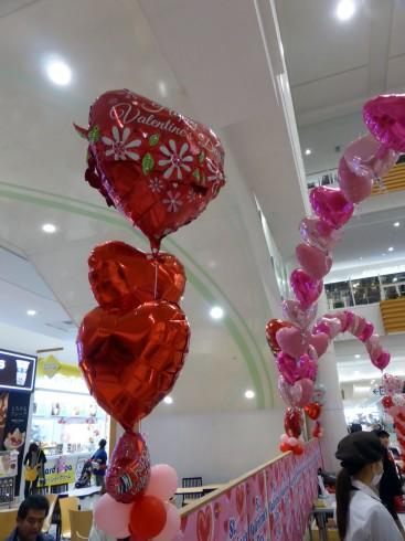 バレンタインバルーンデコレーション