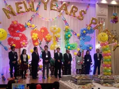 日本バルーン協会ニューイヤーズパーティー2014