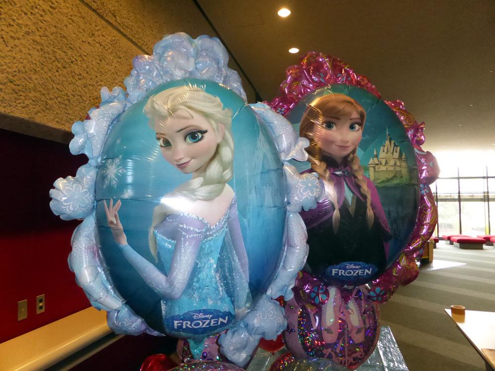 アナと雪の女王バルーン