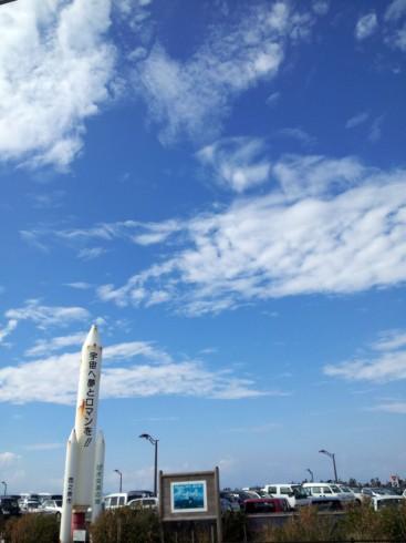 種子島のロケット