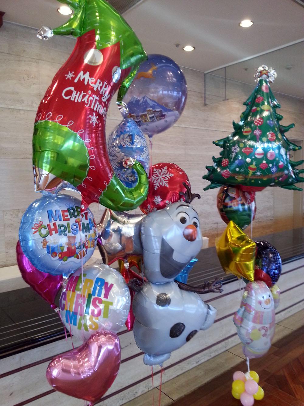 クリスマスパーティー用バルーン