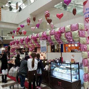 バレンタインバルーン