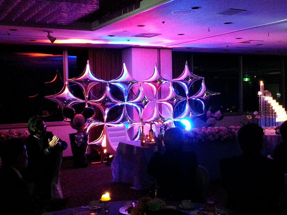 LEDとバルーン