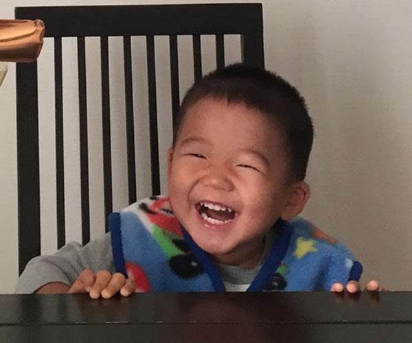 お客様から笑顔のお写真頂きました