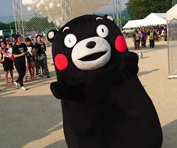 熊本の美里町の夏祭りへ