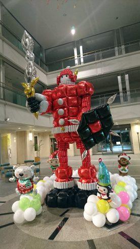 自治会館クリスマス装飾