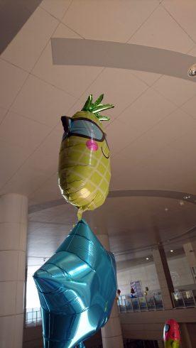 パイナップルバルーン
