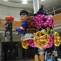 ハロウィンかぼちゃの馬車バルーン